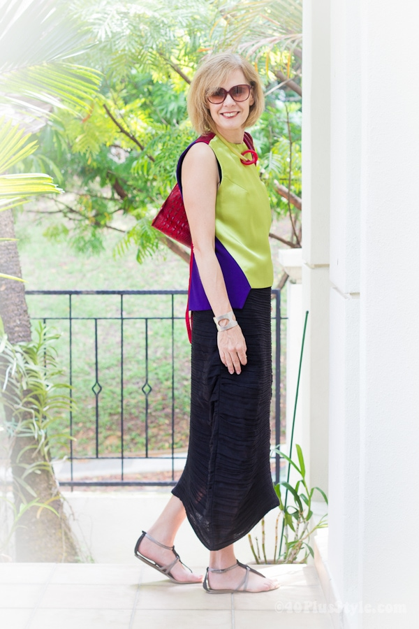japanese style outfit with flats