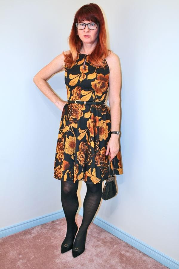 mod cloth dress suzanne carillo | 40PlusStyle.com
