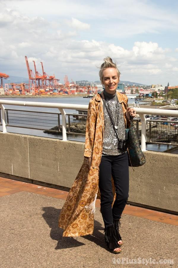 Melanie Kobayashi in Vancouver | 40plusstyle.com