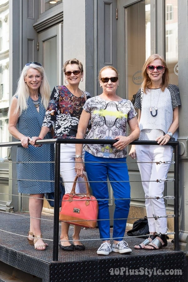 Shopping in Soho with 40+Style readers | 40plusstyle.com