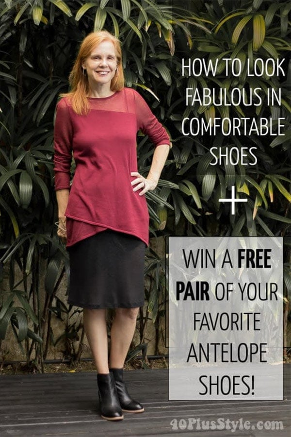 How to look fabulous in comfortable shoes   40plusstyle.com