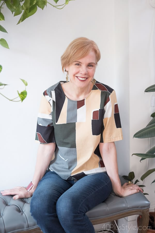 How to style modern pieces   40plusstyle.com