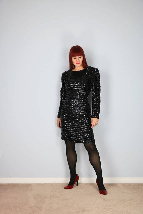 Chic sequin dress and how to style it | 40plusstyle.com