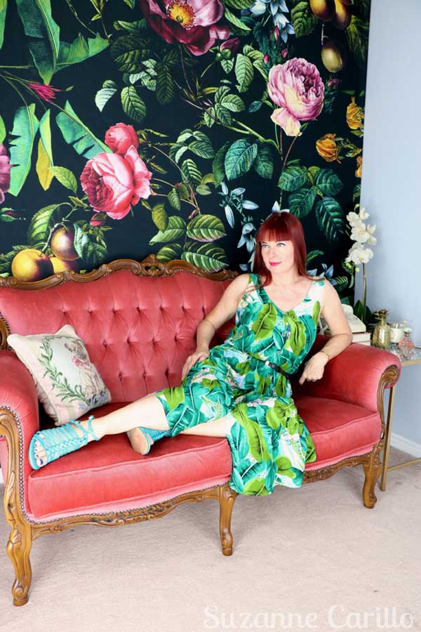 Floral outfits for women   40plusstyle.com
