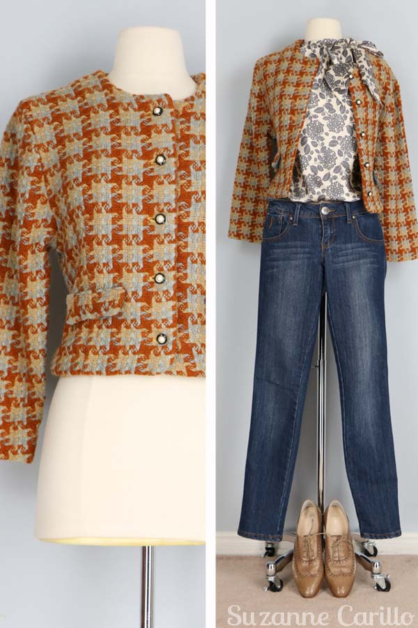 Classic and vintage coat   40plusstyle.com