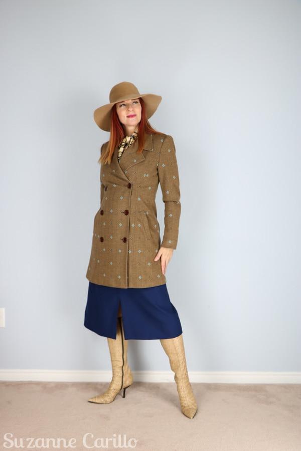 Look elegant with vintage pieces   40plusstyle.com