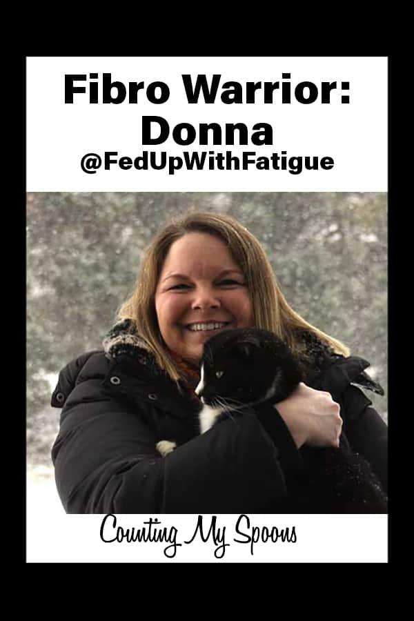Fibro Warrior Donna - @FedUpWithFatigue