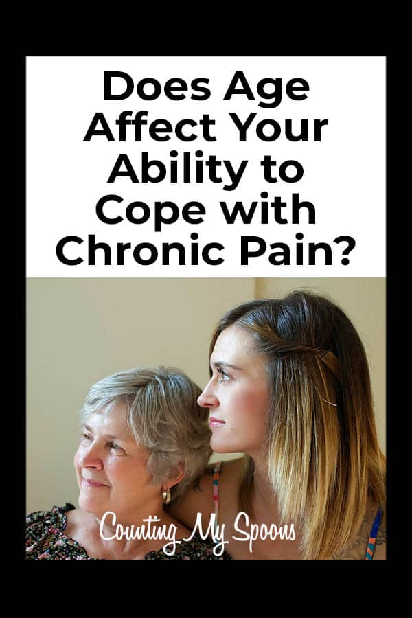 Does age affect how we cope with chronic pain?