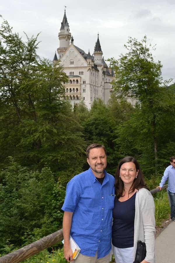 Best Spots for pictures in front of Neuschwanstein Castle