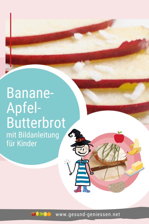 Pin Rezept Banane-Apfel-Butterbrot