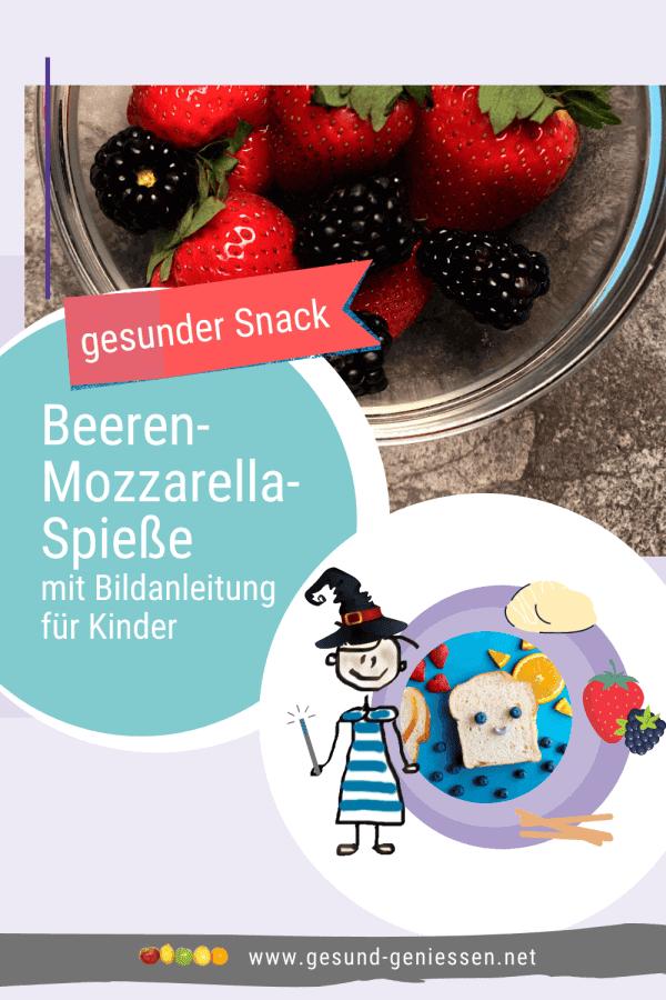 Pin Rezept Beeren-Mozzarella-Spieße