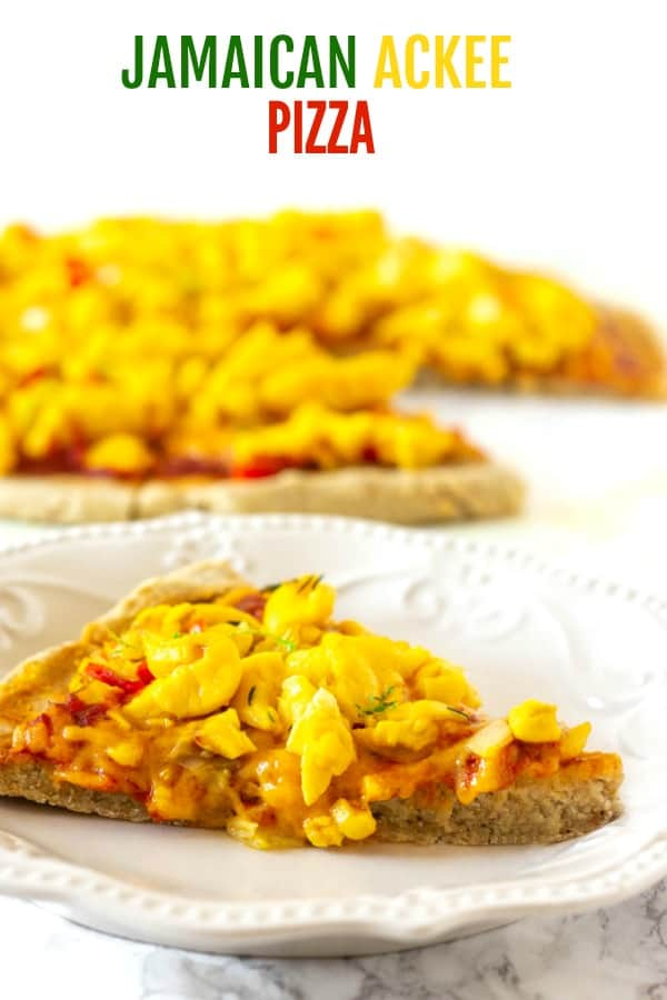 Jamaican Ackee Pizza
