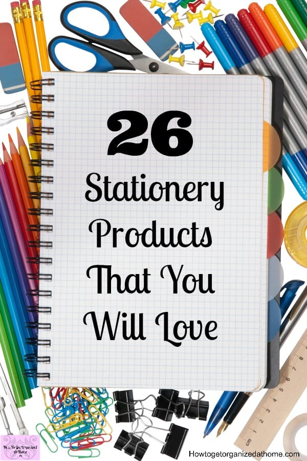 Looking for stationery products that others will love or add to your ever-growing stationery supply? This list is just some of the amazing stationery products that I love!