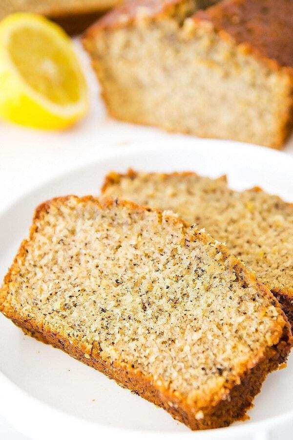 Earl Grey Tea Loaf Cake