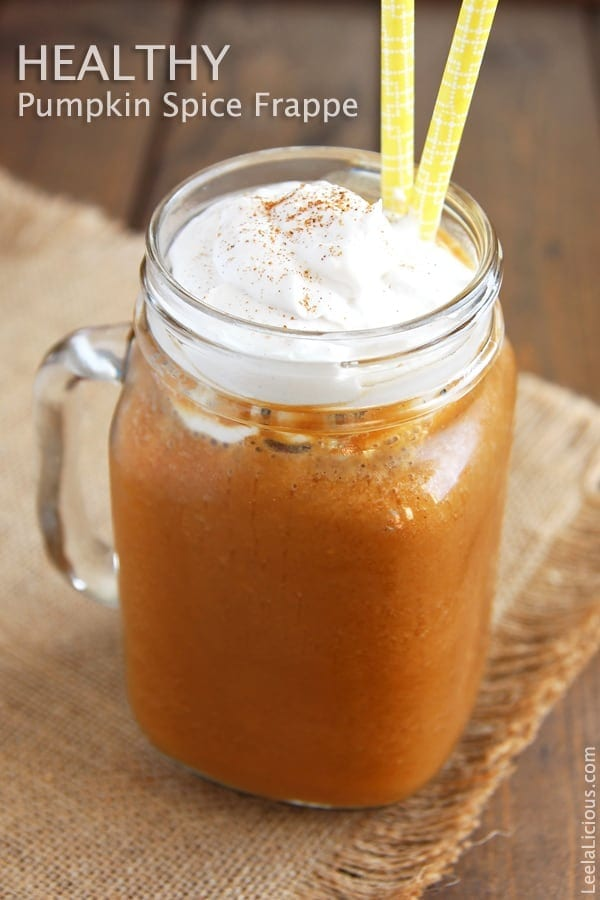 Frappe with Pumpkin Spice