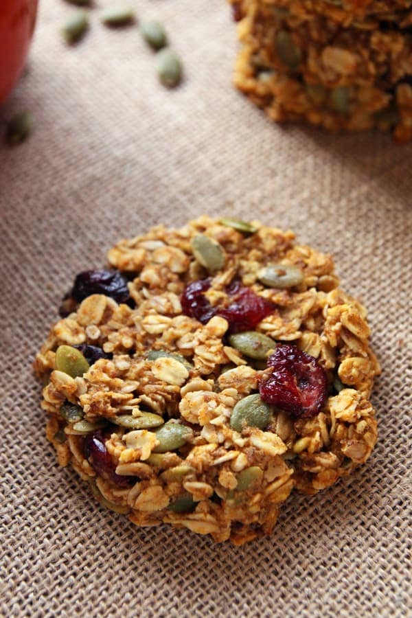 Breakfast Cookies with Pumpkin Seeds