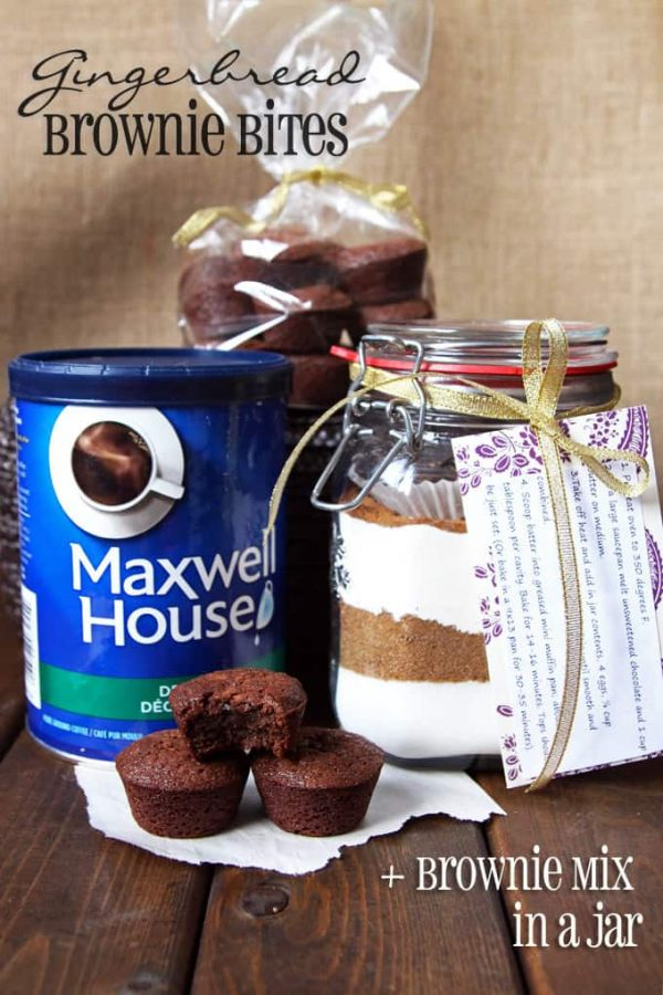 Gingerbread Brownie Mix Gift
