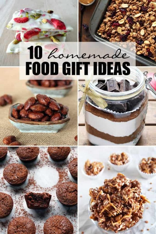Homemade Food Gift Ideas