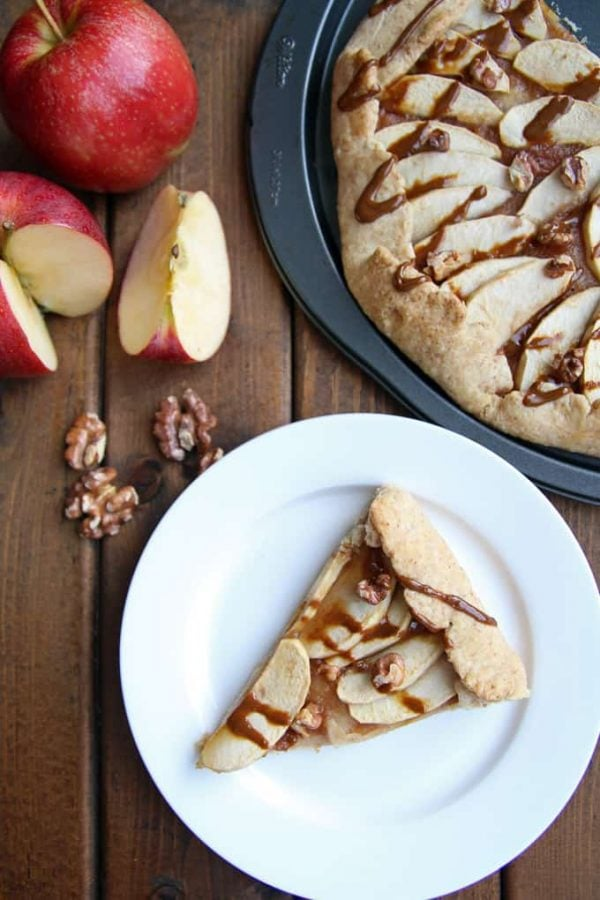 Apple Maple Galette Fresh Apples