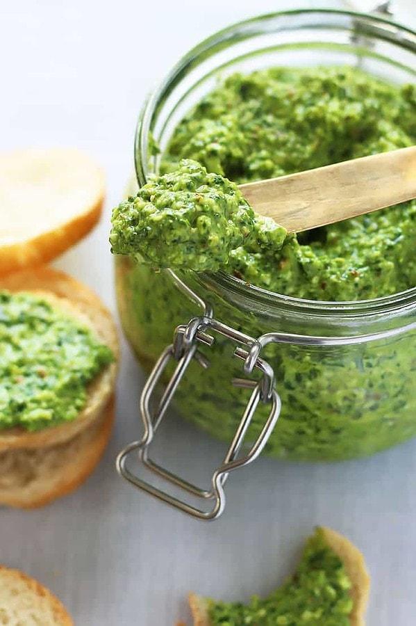 Spinach Pesto Spread