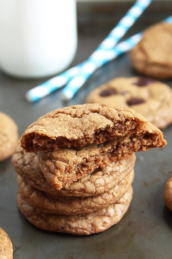 Coconut Sugar Cookie Stack