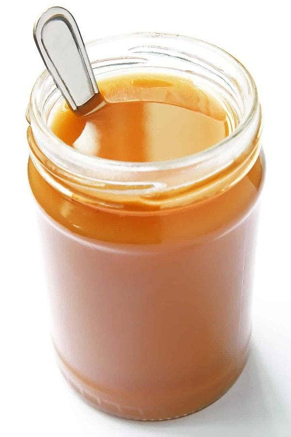 Condensed Milk in Jar