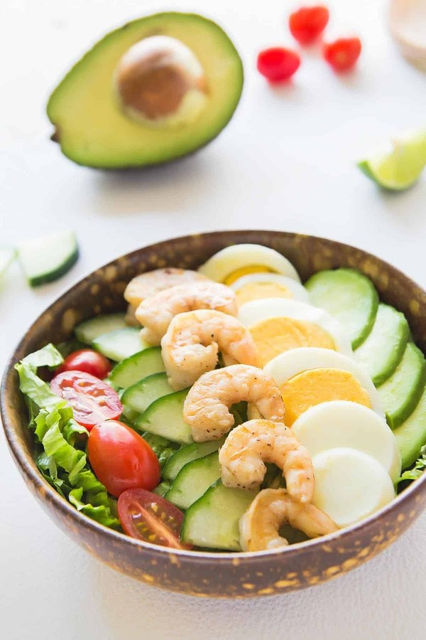 Best Avocado Shrimp Salad