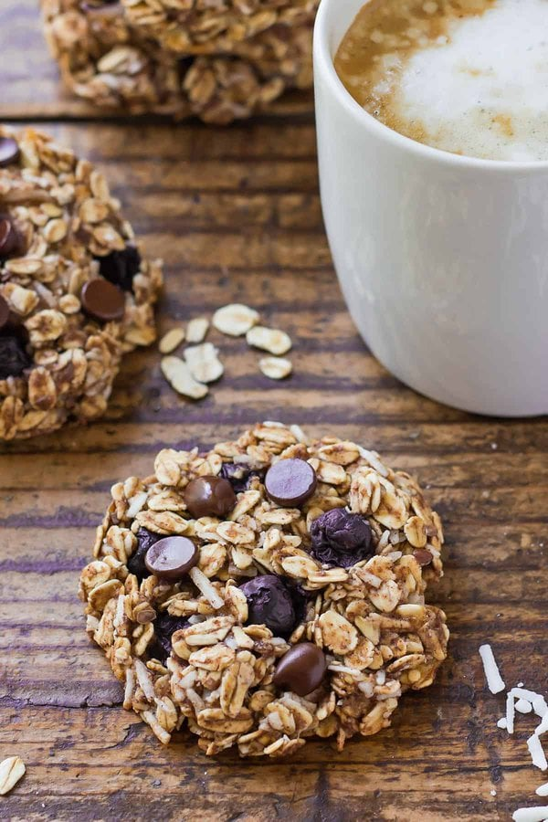 Vegan Blueberry Breakfast Cookies