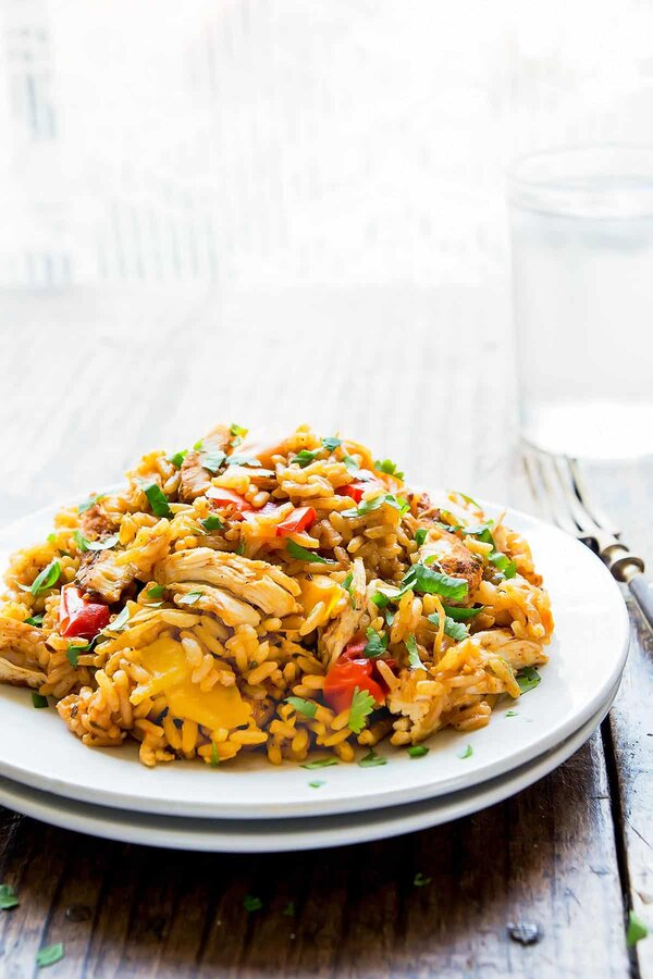 Cajun Chicken and Rice