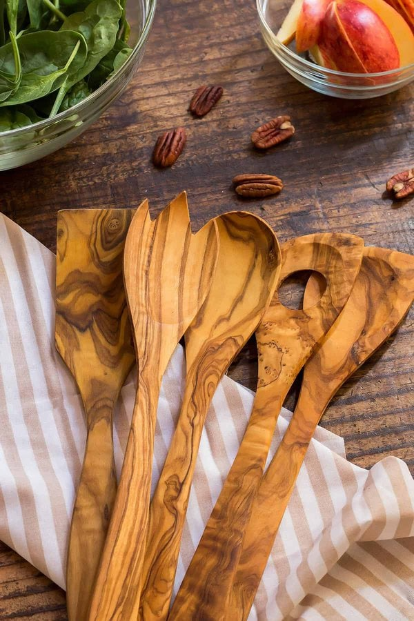 Olive Wood Cooking Utensils