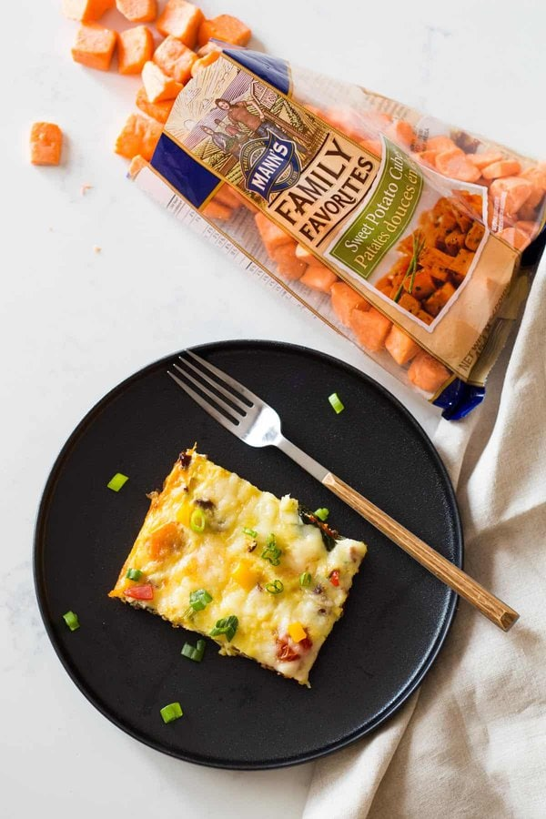 Egg Casserole with Sweet Potato