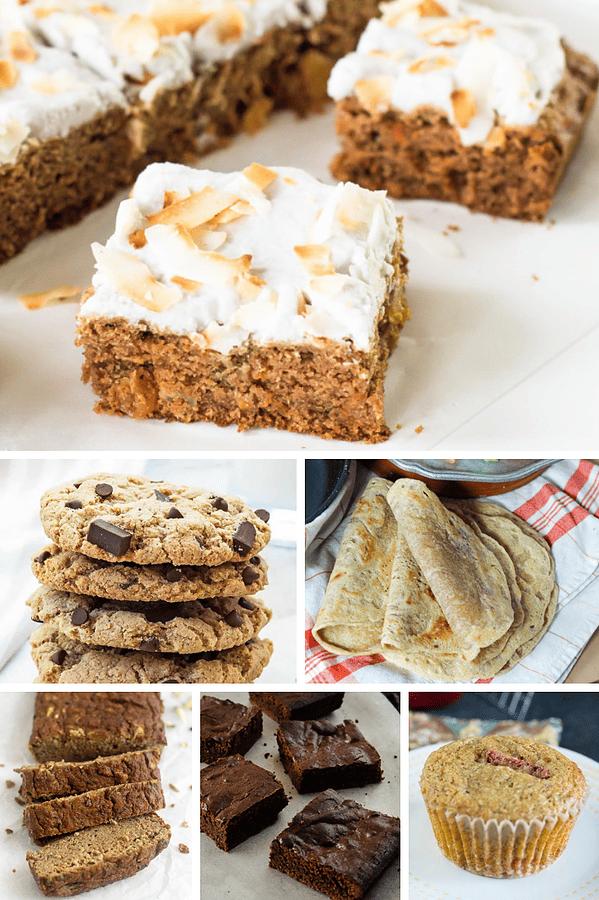 Collage of Tigernut Flour Recipes