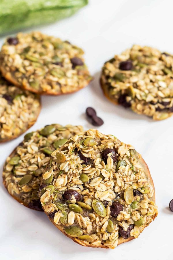 Healthy Breakfast Cookies with Zucchini