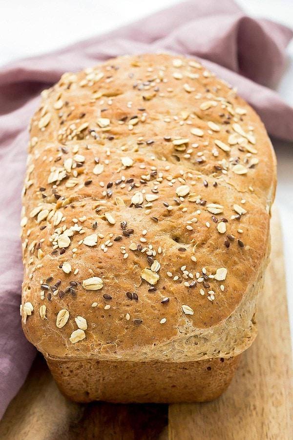 Easy Sourdough Sandwich Loaf