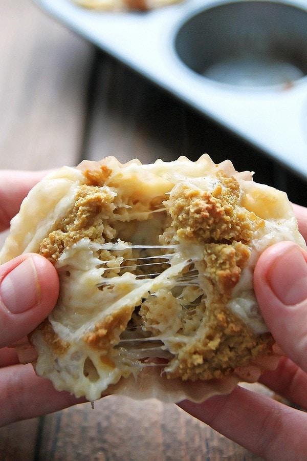Gluten Free Welsh Rarebit Muffins