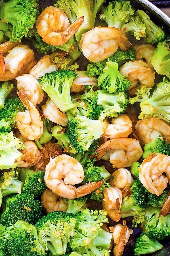 Teriyaki Shrimp Stir Fry with Broccoli