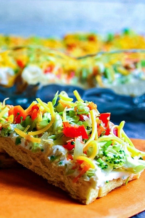 Cool Veggie Pizza Appetizer | Life, Love, and Good Food