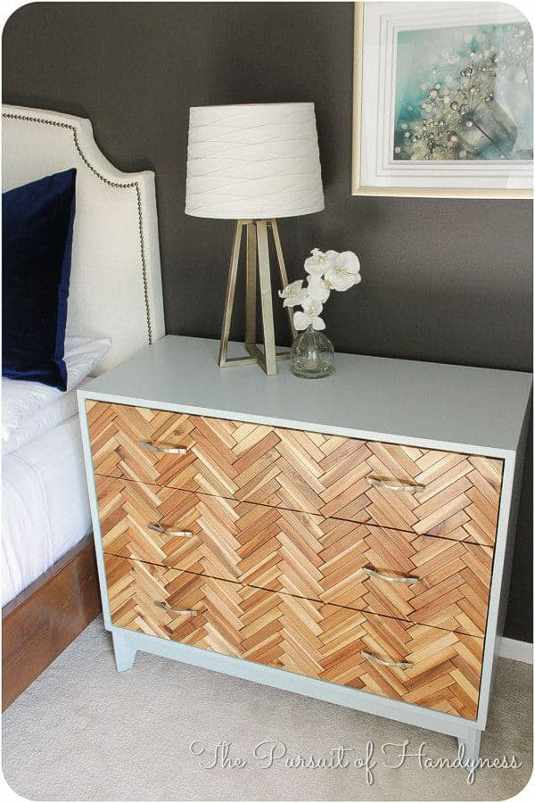 DIY Herringbone chest hack