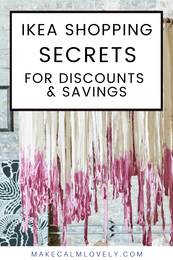 IKEA Shopping Secrets for Discounts and Savings