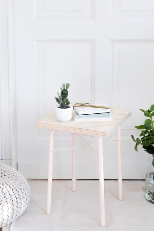 IKEA side table hack