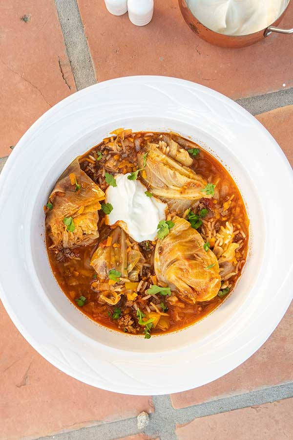 cabbage roll soup, healthy