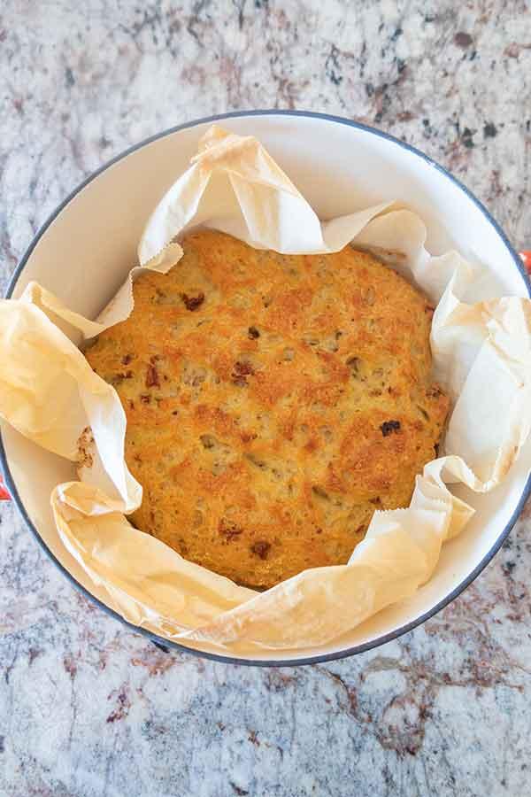 gluten free dutch oven artisan bread