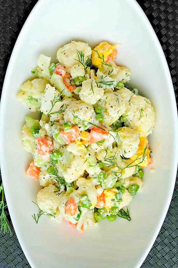cauliflower summer salad