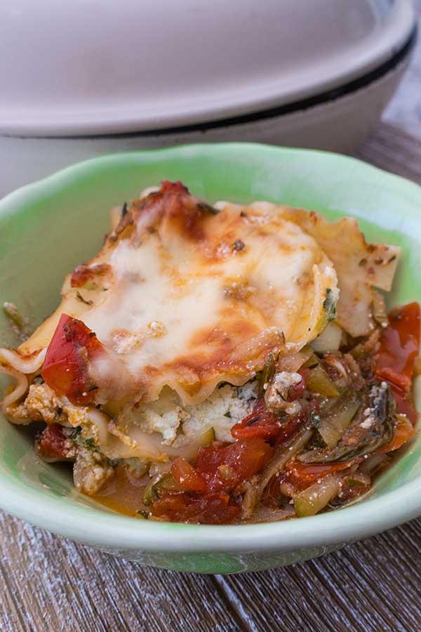 skillet lasagna roll ups, gluten free