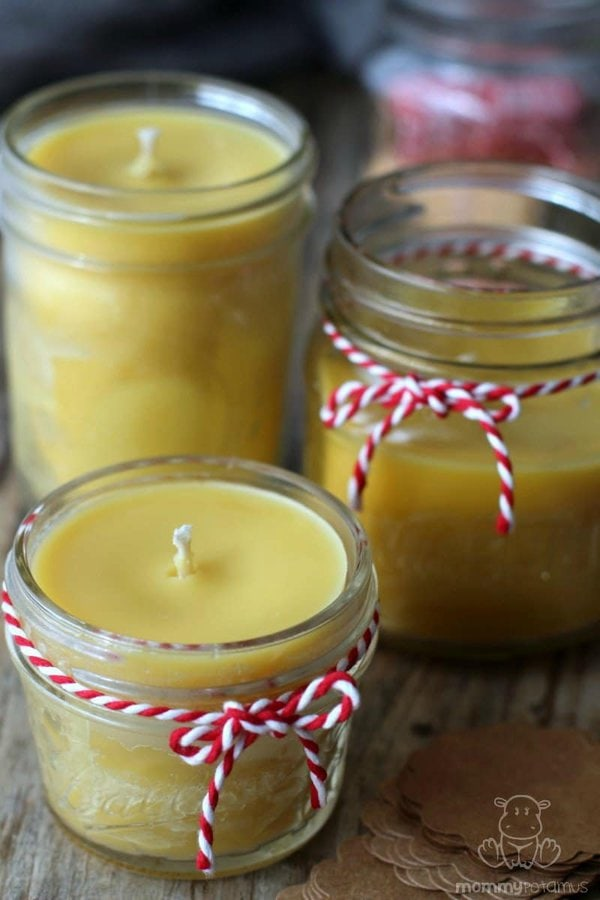 Learn why coconut oil is essential for your DIY beeswax candles. #candlemaking #candlerecipe #essentialoils #essentialoilrecipes #soycandles #diygifts