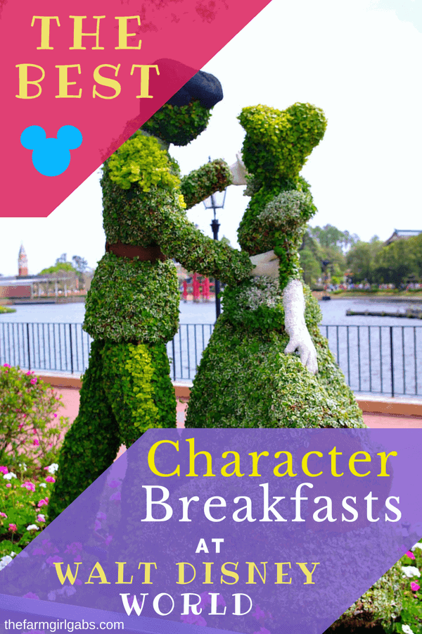 It's not a trip to Walt Disney World without a character dining experience. Here are The Best Character Breakfasts At Walt Disney World. Make your reservations today. #WaltDisneyWorld #DisneyDining #FamilyTravel #Disneyland