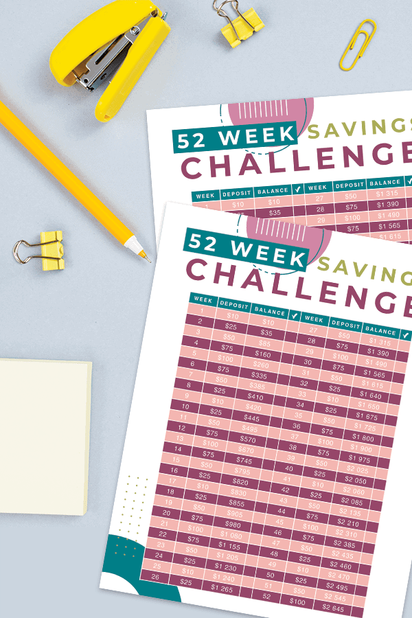 Would you like to start saving more money? You might want to have the extra cash in a savings account that you can have access to when you need it the most. Whether you are saving to get gifts during the holiday season, want to pay off debt, or would like to get ahead of your finances, you can try the 52 week savings challenge. The challenge involves setting money aside over the span of a full year to see exactly how much you can end up saving at the very end.