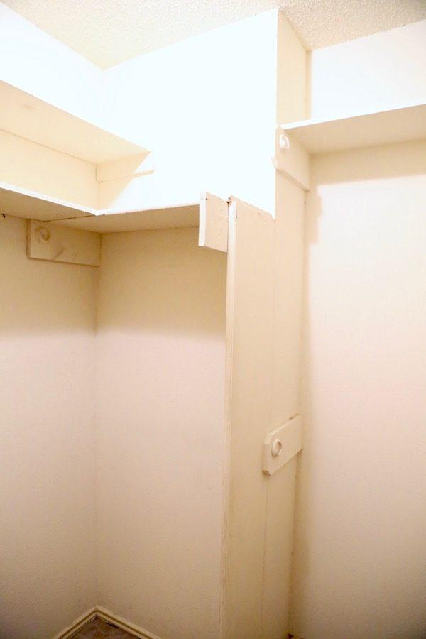 Renovating a master bedroom closet
