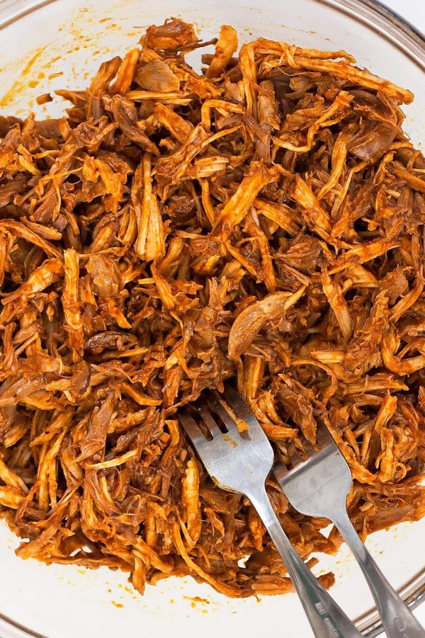 Shredded Instant Pot Pulled Pork