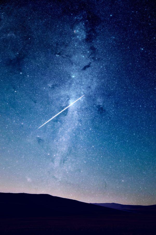 Come fotografare una pioggia di meteoriti